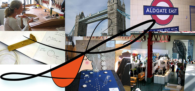 schoeneliese Ausbildung und Ausstellung in London